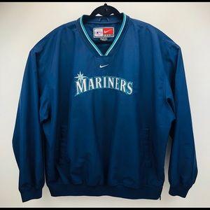 Nike Seattle Mariners MLB Baseball Pullover Jacket